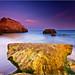 The Beach - Sunset at Praia da Rocha