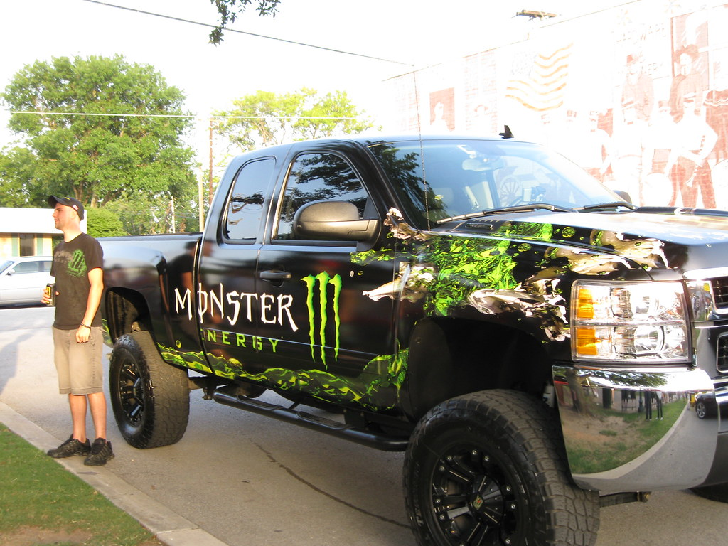 Monster Energy Drink Truck 2 | The City of Grapevine's ...