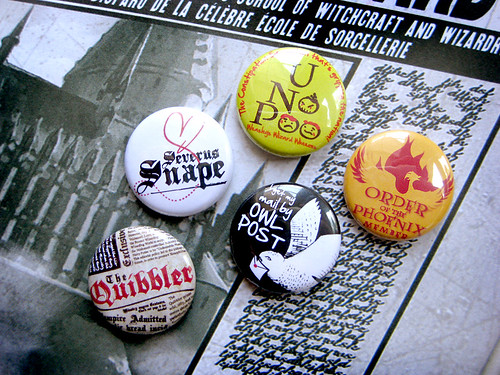 Harry Potter Buttons Set B | by robotscrapyard