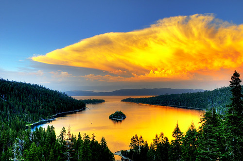 Emerald Bay Sunset | by Joshua D. Williamson