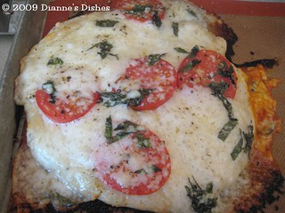 Fresh Pizza Margherita(ish): Baked | by Dianne's Dishes