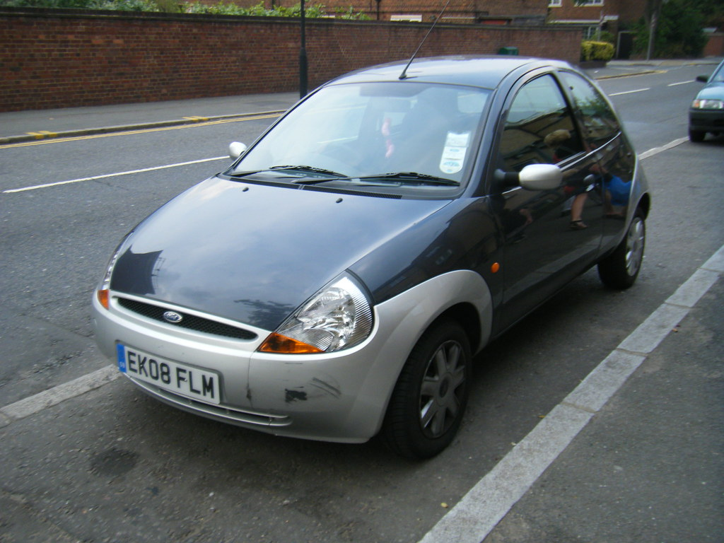 Ford Ka Style Climate Two Tone Sea Grey With Silver Bumpers