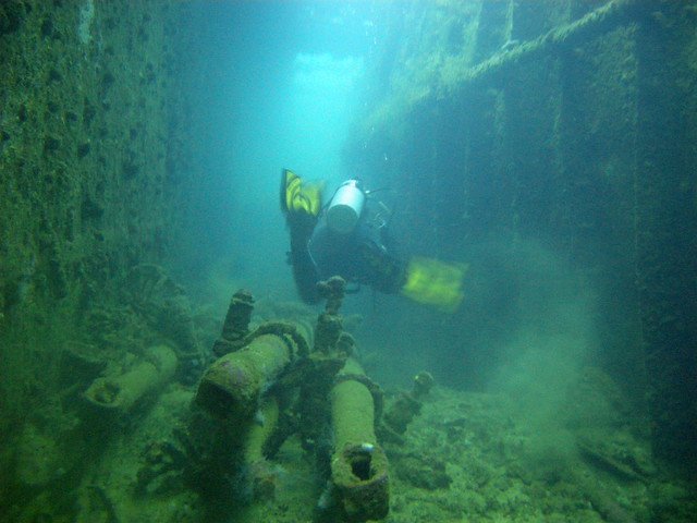 Heian Maru Periscopes & Passageway