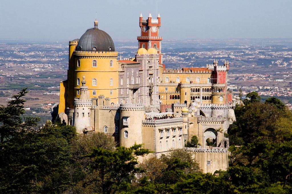 Lisbon - Sintra, Palacio da Pena