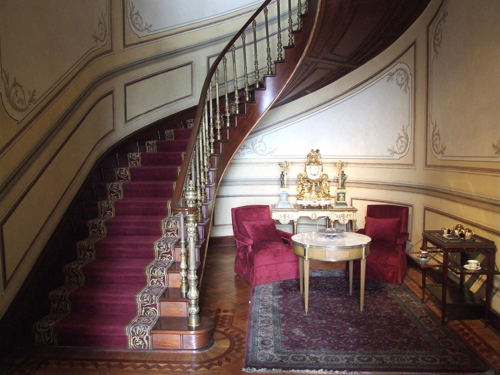 2009 10 castillo de chapultepec interior escaleras junt flickr - Escaleras de interior fotos ...