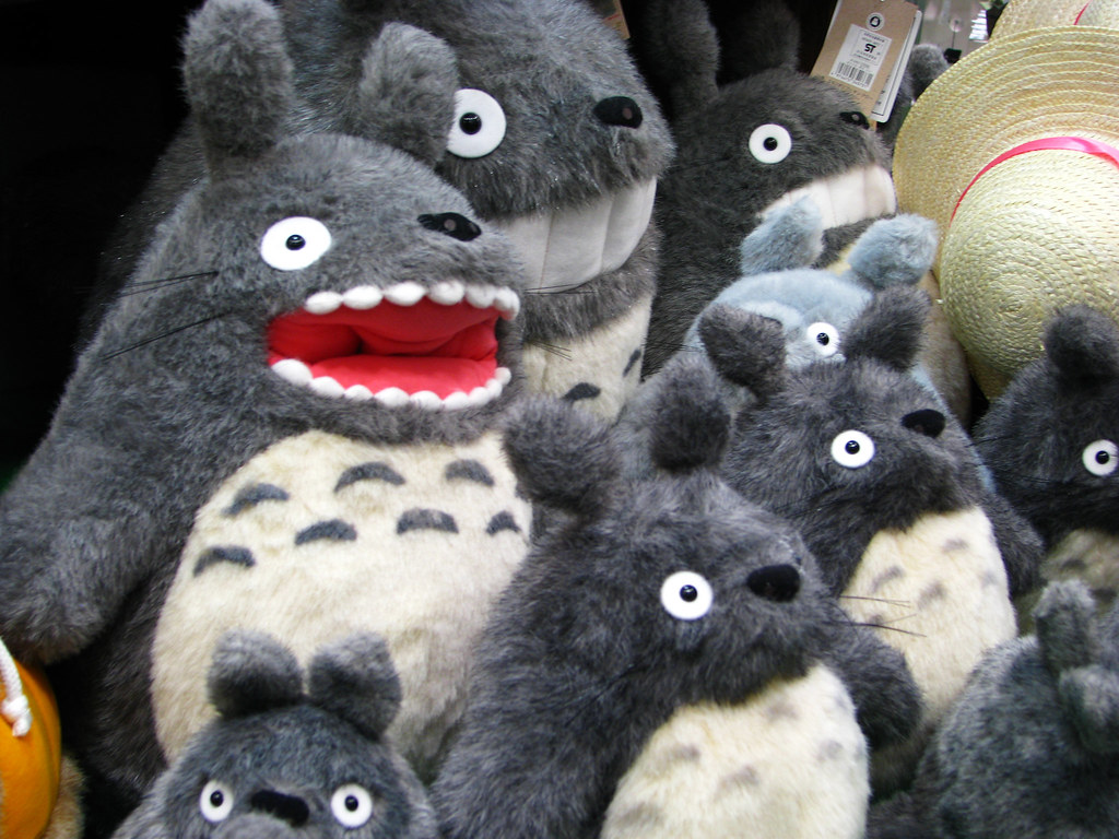 totoro rororo totoro gonna eat your face joolie flickr. Black Bedroom Furniture Sets. Home Design Ideas