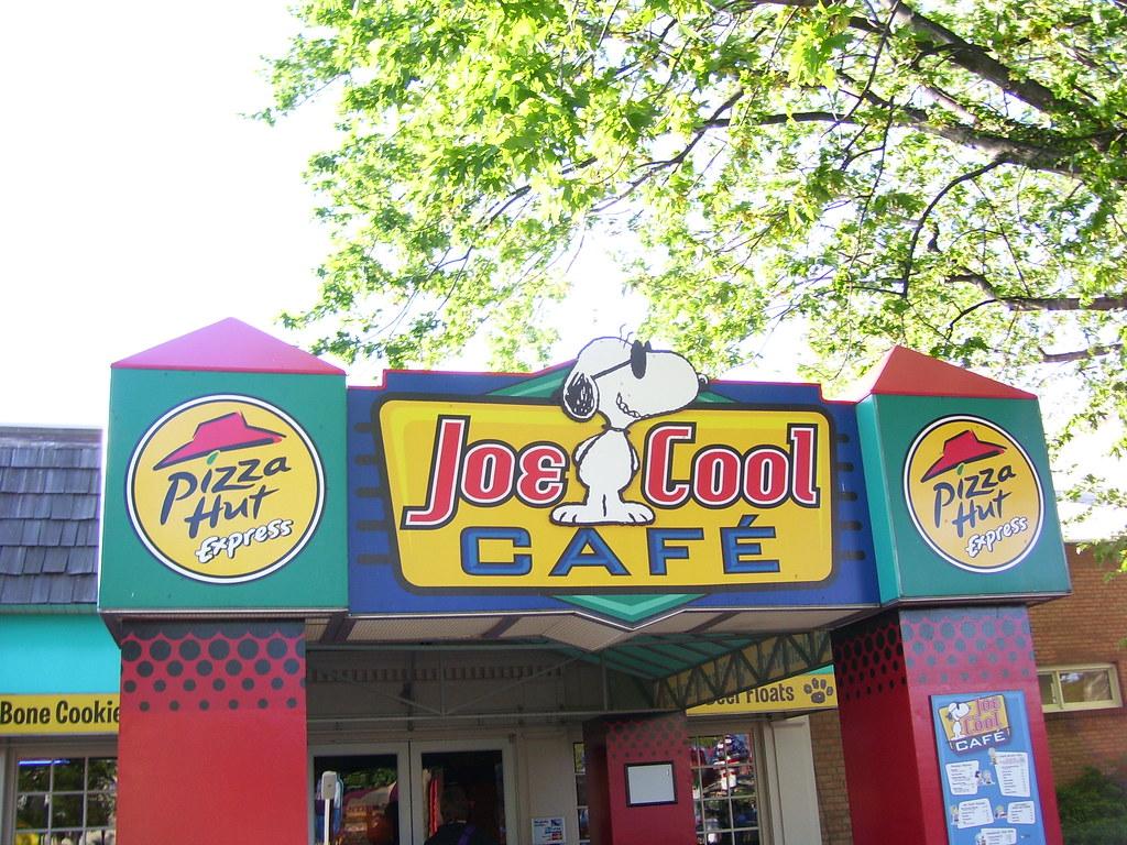Joe Cool Cafe Menu