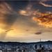 Sunset over Barcelona