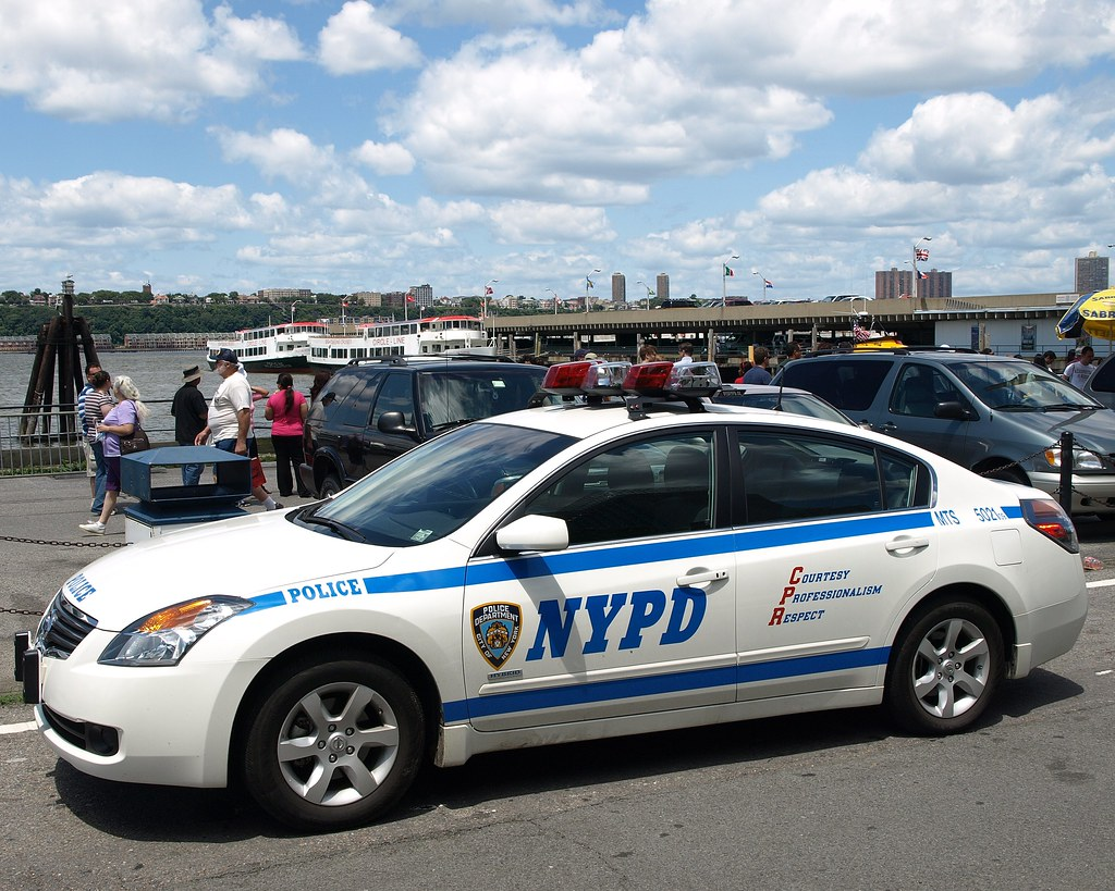 PMSC NYPD Nissan Altima Hybrid Police Car, 12th Avenue at ...