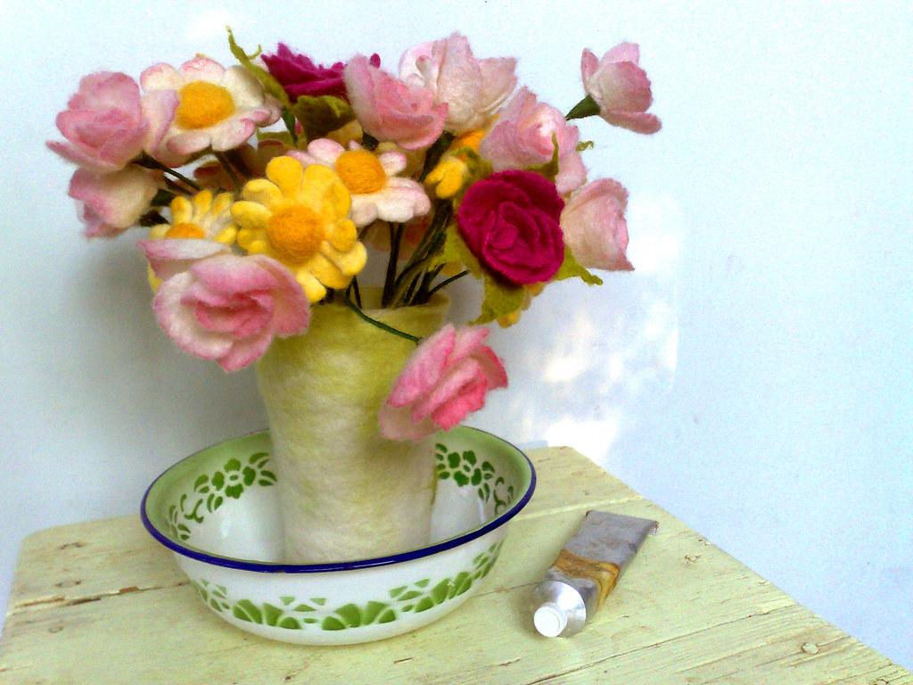 Felt Flowers Bouquet Irit Dulman Flickr