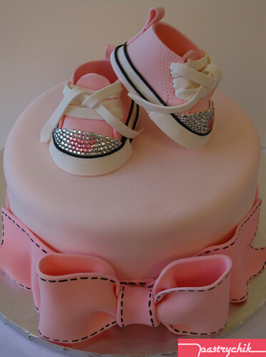 Louboutin Inspired Baby Shoes