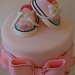 Posh Princess Baby Shoe Cake