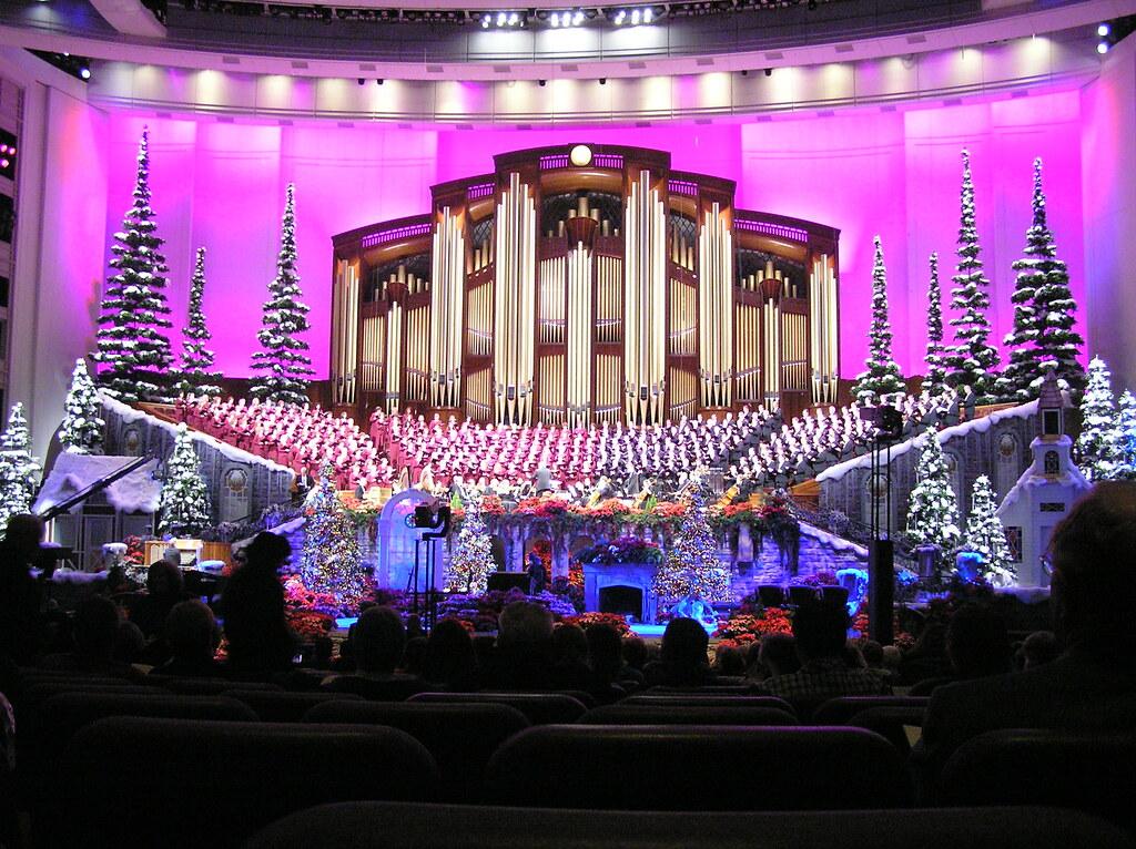 mormon tabernacle choir christmas concert by mormon tabernacle choir