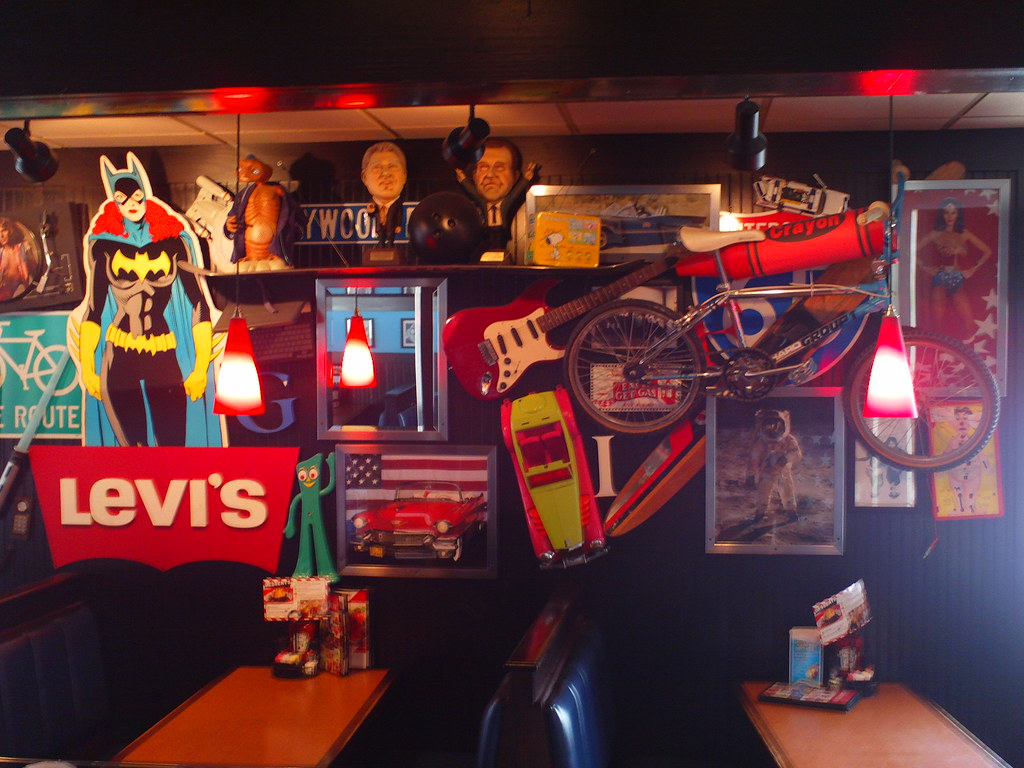 Tgi Fridays Wall Junk Tgi Fridays Wall Junk Flickr