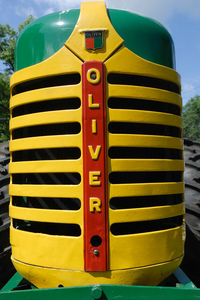 oliver tractor radiator grill | oliver tractor radiator gril… | flickr