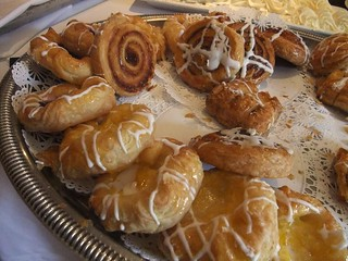 Danish on the Sunday Brunch Buffet at The Worthington Inn | by swampkitty