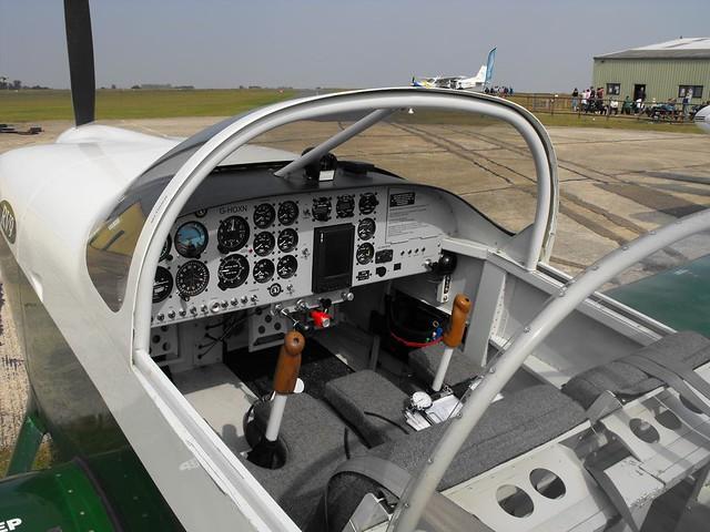 Inside The Cockpit Of Vans Rv 9 G Hoxn Image Taken 19 09