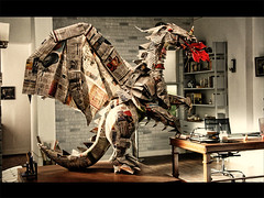 Origami Dragon for Dell | by Himanshu (Mumbai, India)