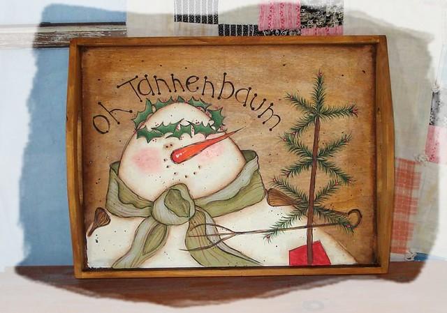 Oh tannenbaum 1 oh tannenbaum snowman serving tray - Lichternetz fa r tannenbaum ...