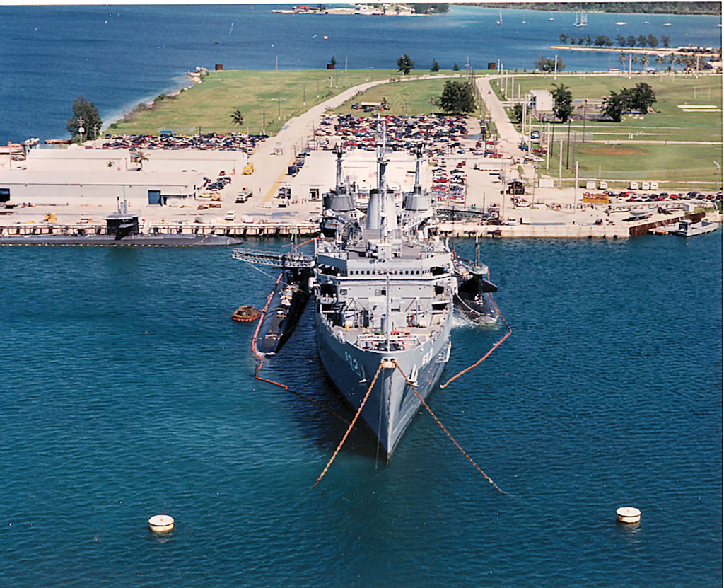 Holland And Holland >> USS Holland AS-32 | Home sweet home from 93-95, with submari… | Flickr