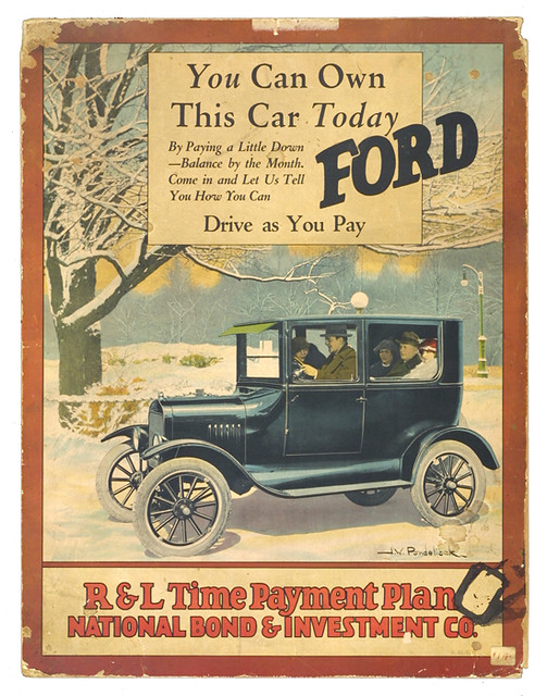 ... Poster advertising payment plans for Ford Model T about 1925 | by The Henry Ford & Poster advertising payment plans for Ford Model T about 1u2026 | Flickr markmcfarlin.com