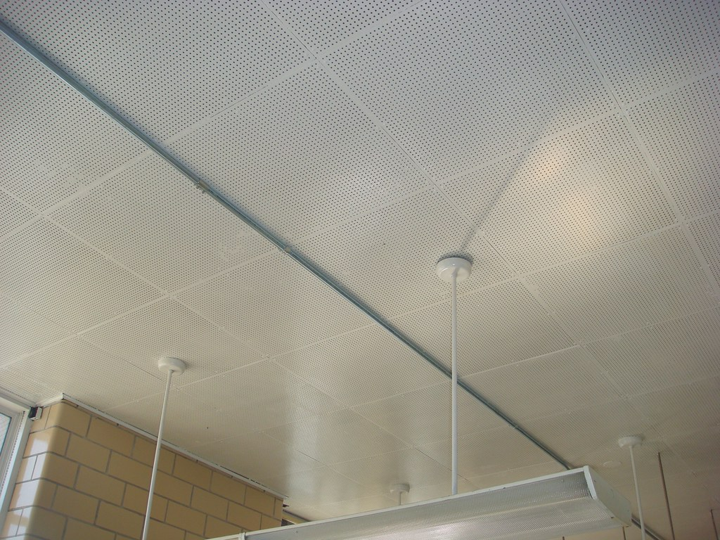 Perforated Asbestos Cement Ceiling Panels Example Of