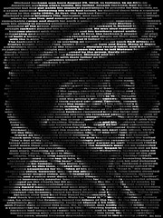 Michael Jackson, Text Portrait