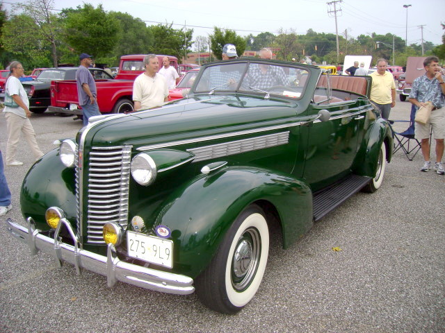 1938 Buick Century Convertible Lost In The 50s Cruise