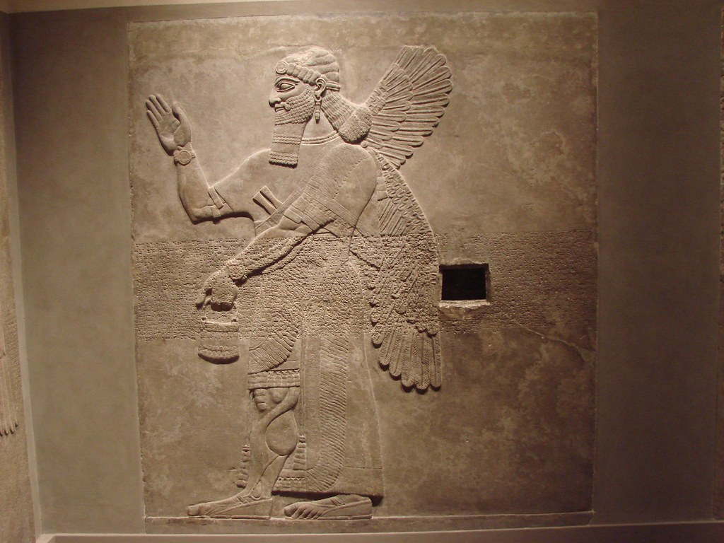 Ashurnasirpal Ii Assyrian Relief Northwest Palace Room