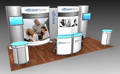 exhibit design custom booth design by tradeshowmall - Booth Design Ideas