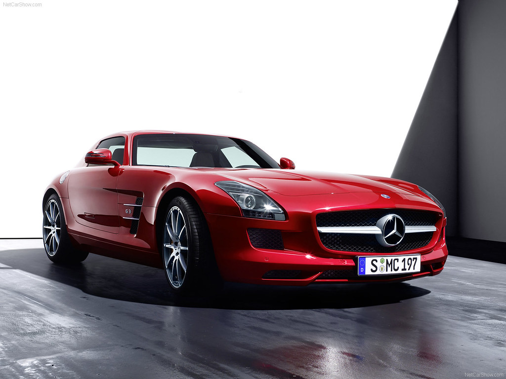 Mercedes Benz Sls Amg Wallpaper Ethan Flickr