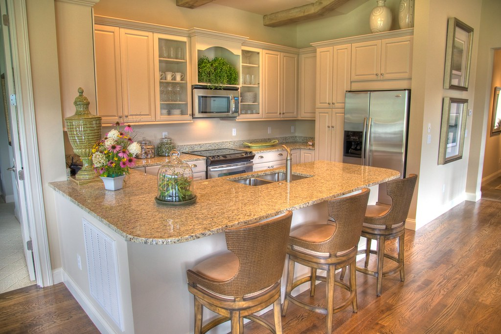 Blue Ridge Model Kitchen The Kitchen Is Large And