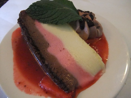 Neapolitan Cheesecake from The Worthington Inn | by swampkitty