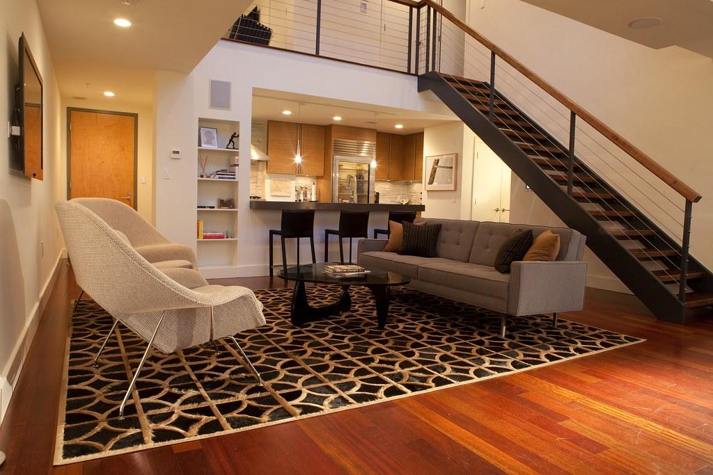 Midcity Duplex Living Room