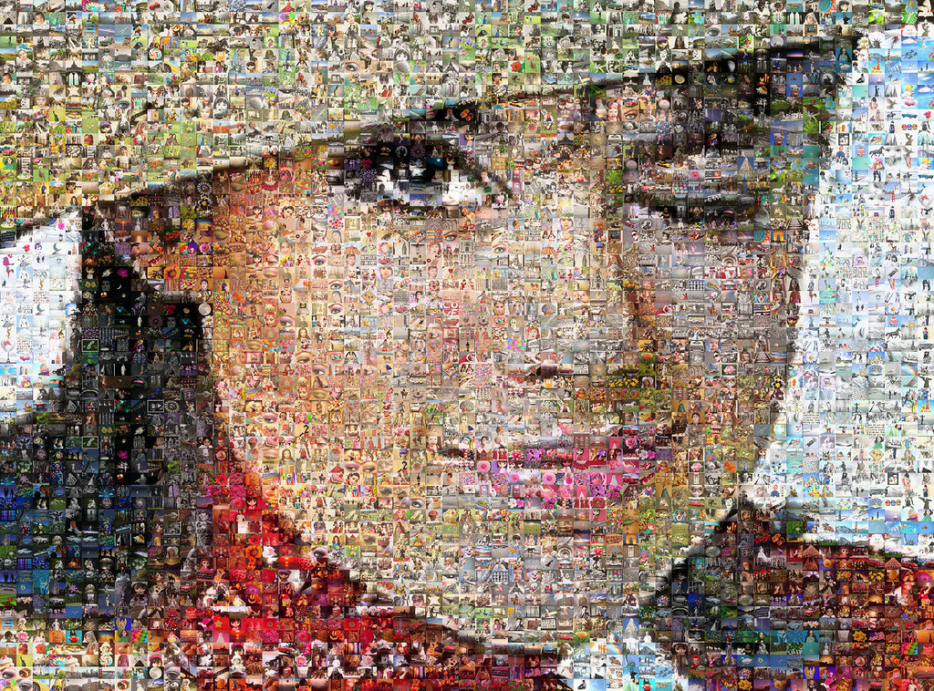 Colleen Corby Mosaic 1965 | A mosaic collage of Colleen Corb… | Flickr