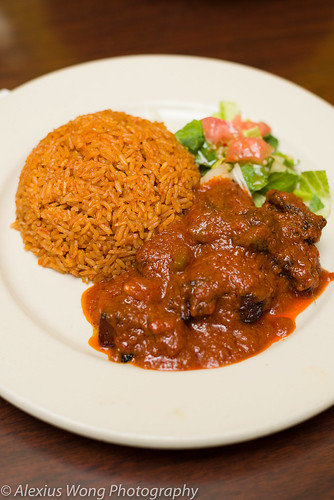 Goat and Rice Jollof