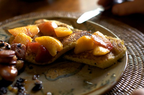 pancakes and peaches | by smitten kitchen