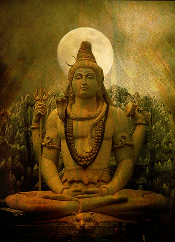 Shiva | original photo by Deepak Shiva helps in transition