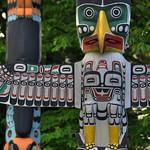 Totem Poles of Stanley Park