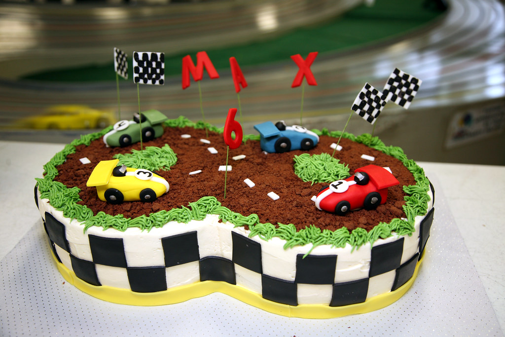 Cake Race Track Decorations