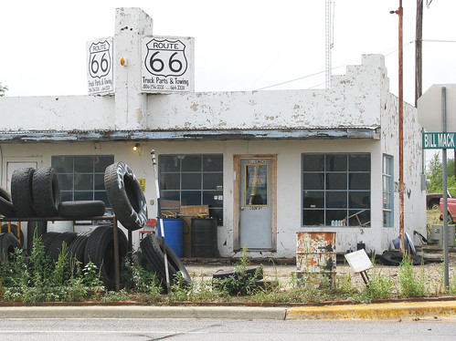 50a Shamrock TX - Route 66 Truck Parts  & Towing 01 | by Johns Never Home