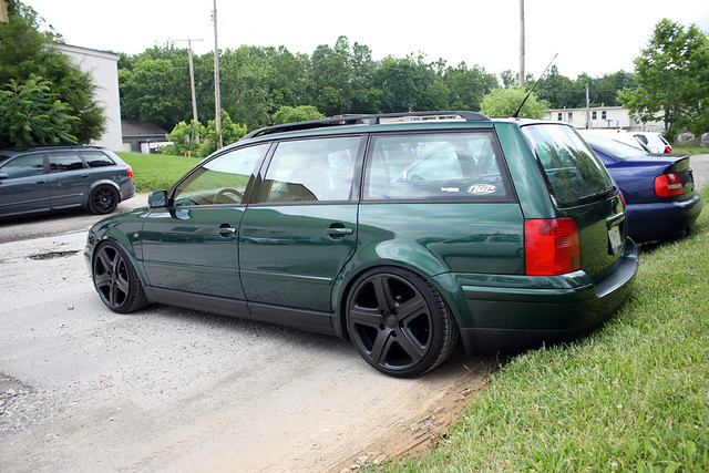 Jason S B5 Passat Wagon On 19 Quot Touareg Wheels Ngp Racing