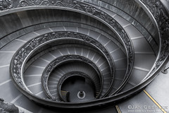 Giuseppe Momos double helix staircase Vatican City 03 | by Jan_Gessler