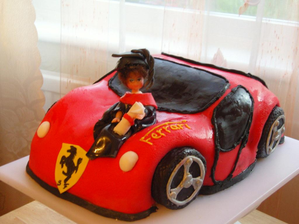 Ferrari Cake Images