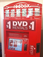 Our local RedBox, a pretty darn good way to rent movies | by dionhinchcliffe