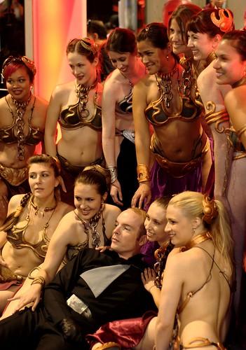 2009 san diego comic-con: slave leia harem | george ruiz ...