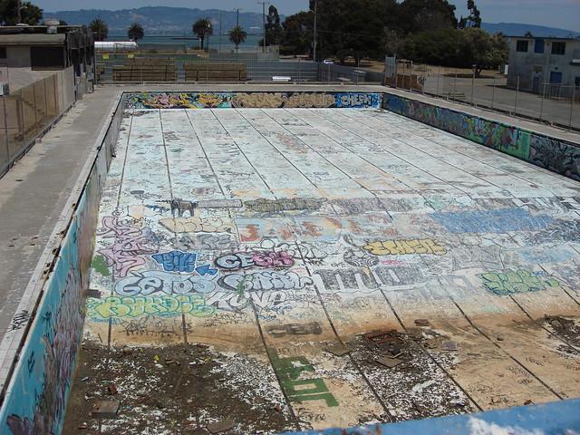Treasure Island Swimming Pool In Sunray Tx