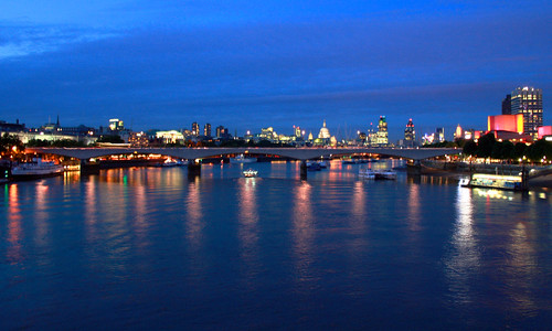 Waterloo Bridge at Dusk | by rutthenut