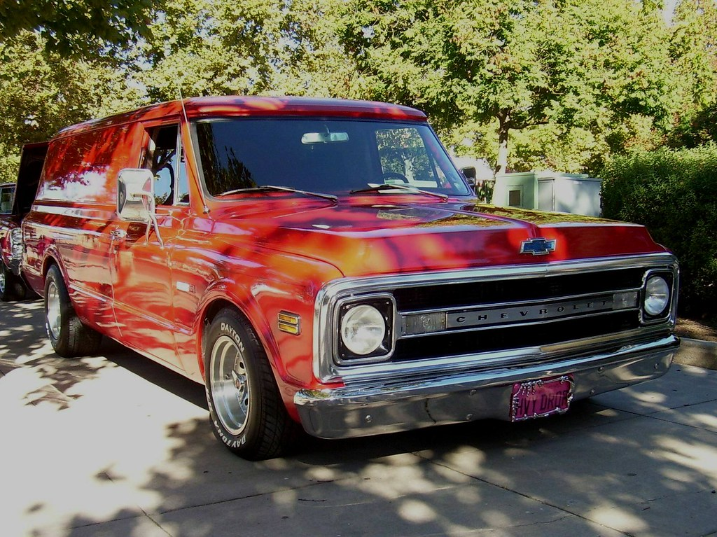 New Chevy Truck >> 1970 Chevrolet Panel Truck 'HVY DRQR' 1 | Photographed at th… | Flickr