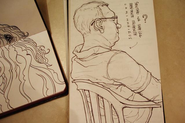 Desenhos Antigos Caderno De Rascunho Desenho De Observacao Flickr